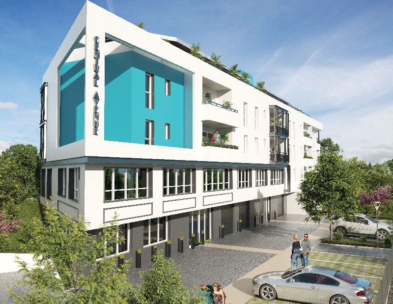 Bayonne, programme immobilier neuf - Central Avenue